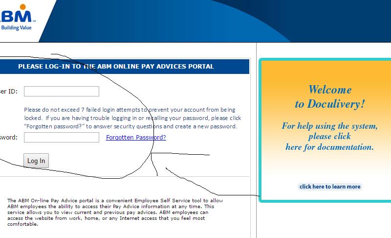 doculivery.com/abm – ABM Online Pay