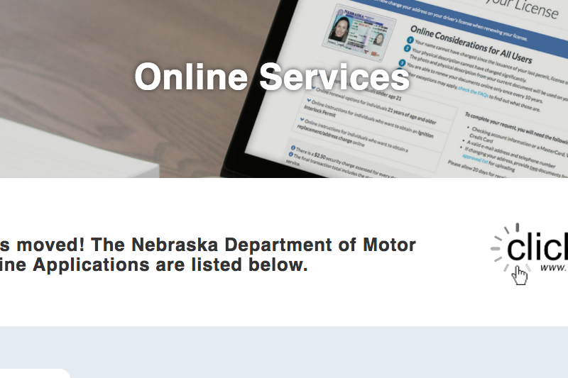 www.clickdmv.ne.gov – Motor Vehicle Online Services